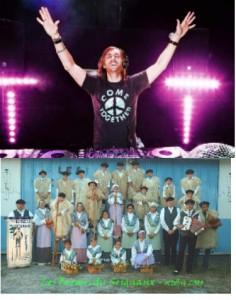 David Guetta a interprété avec Rhianna son tube Right Now, puis place aux Bergers du seignanx pour une nuit de folie !