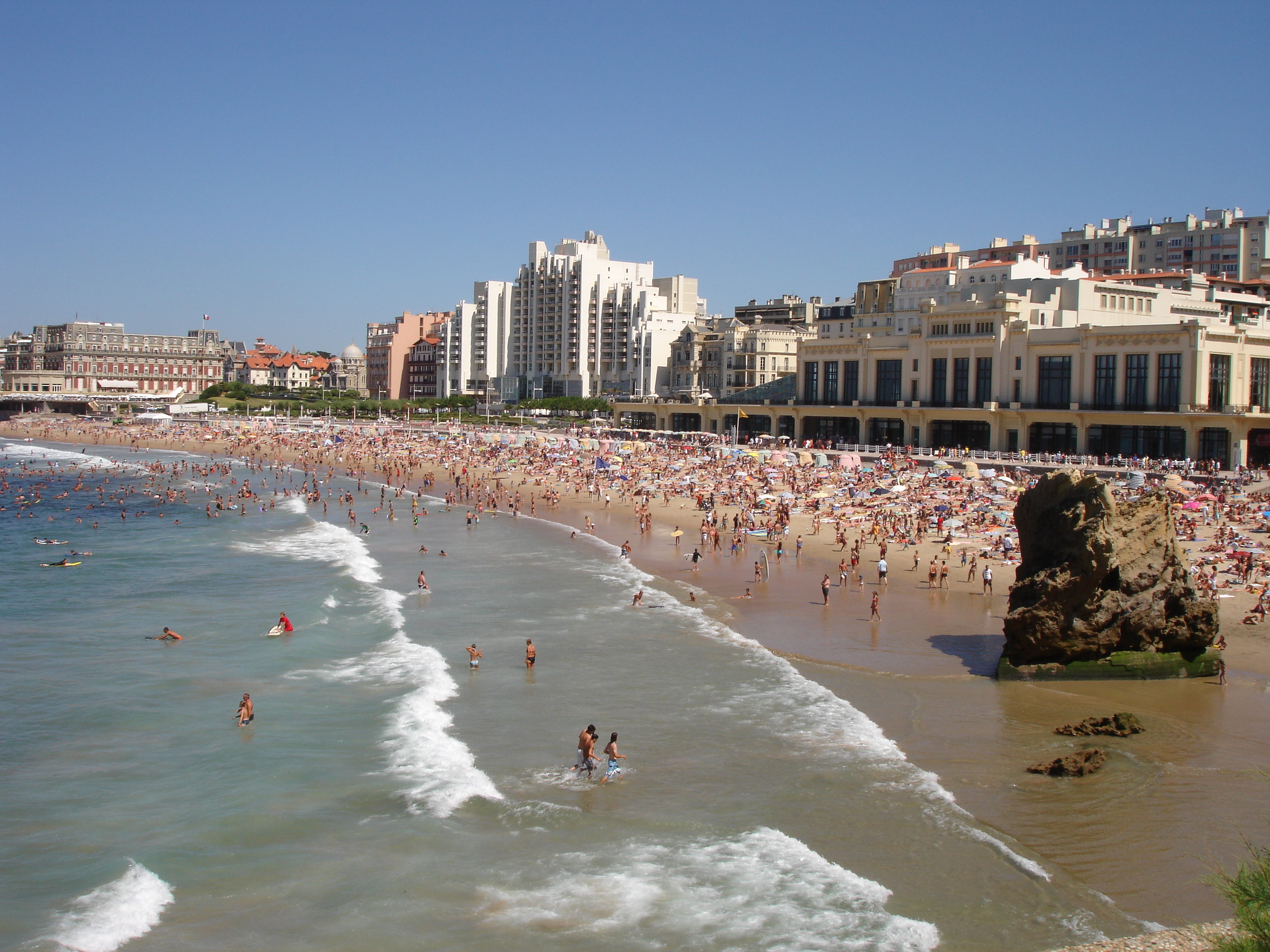 Am nagement du territoire comment biarritz 64 est for Piscine municipale biarritz